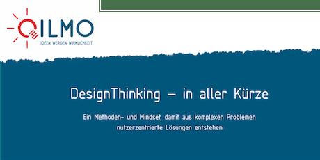 Design Thinking in aller Kürze tickets