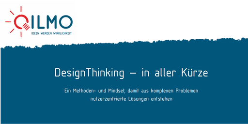 Design Thinking in aller Kürze