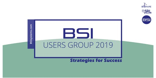 BSI Users Group 2019 Conference