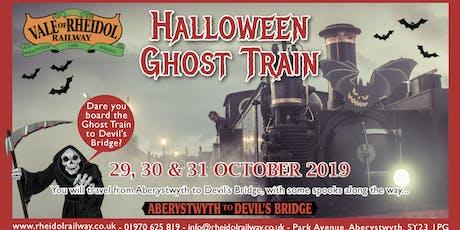 Halloween Ghost Train tickets