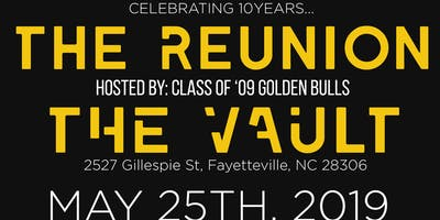 The Reunion All black affair hosted by the Class of 09 Golden Bulls