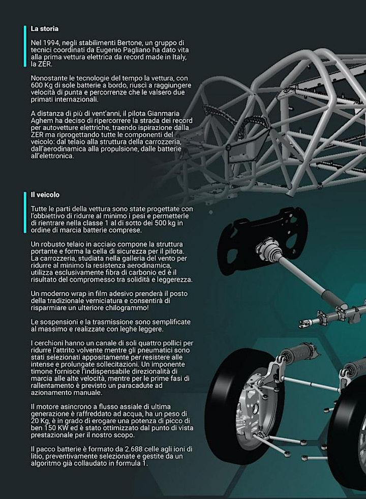 Immagine Presentazione Blizz Primatist, prototipo elettrico per record di velocità.