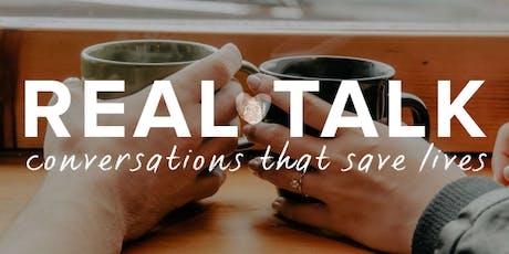 Real Talk - Suicide Prevention Workshop tickets