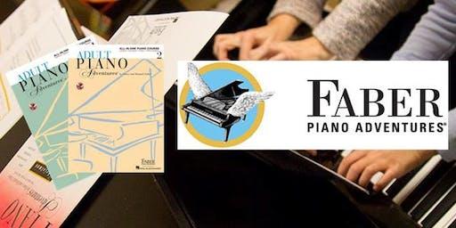 Teacher Workshop: Discover Adult Piano Adventures