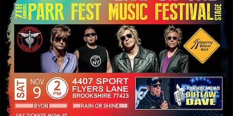 7th Annual Parr Fest Music Festival 2019 tickets