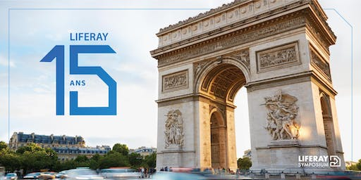 Liferay Symposium France | 8 au 10 octobre 2019