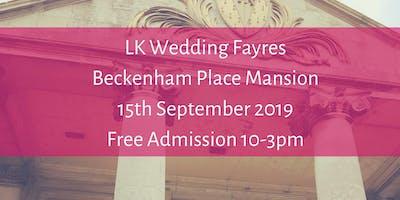 Beckenham Place Mansion, LK Wedding Fayres