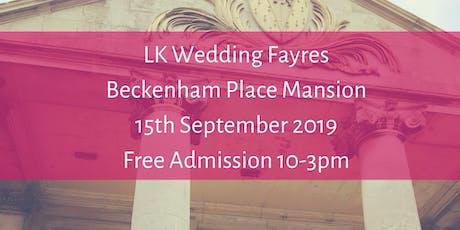 Beckenham Place  Mansion, LK  Wedding Fayres tickets