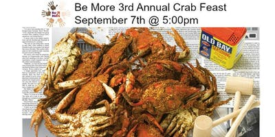 Be More 3rd Annual Crab Feast