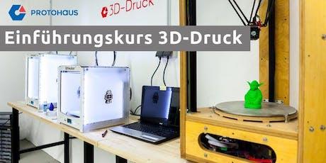 Einführung 3D-Druck Tickets