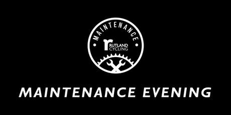 Bicycle Maintenance Class - Pitsford tickets