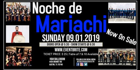 Noche de Mariachi 2019 tickets