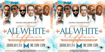 21st Annual  All White DAYtime Affair (25+)