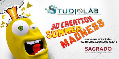 3D Creation Summer Madness - Taller para jóvenes de 14 - 17 años tickets