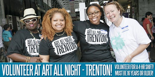 Art All Night - Trenton 2019 Volunteer Registration Form