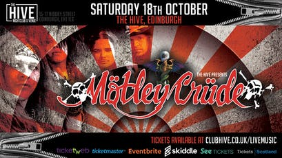 Mötley Crüde tickets