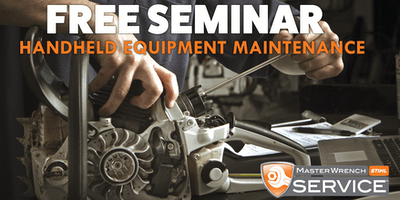Equipment Maintenance Seminar