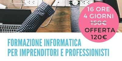 Corso di informatica per imprenditori e liberi professionisti