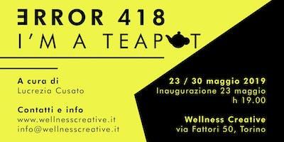 Error 418 - I'm a teapot