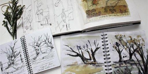 Stitch Sketch Workshop with Cas Holmes