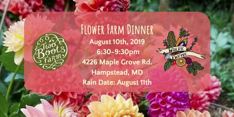 Flower Farm Dinner tickets