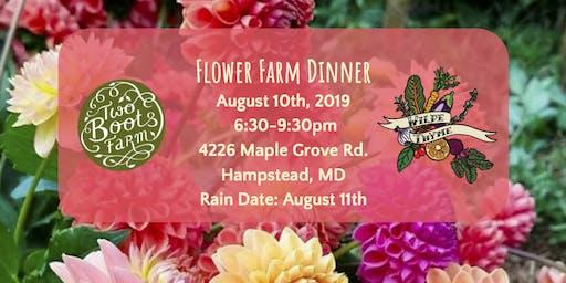 Flower Farm Dinner
