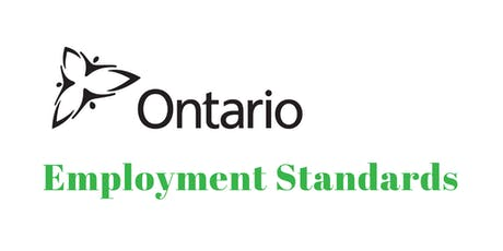 Employment Standards Act Overview tickets