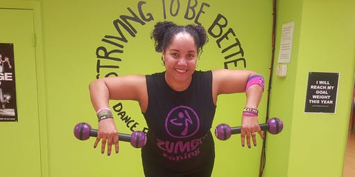 Zumba Toning Exp (45 min) - Free Session