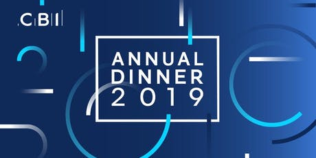 CBI Scotland Annual Dinner 2019 tickets