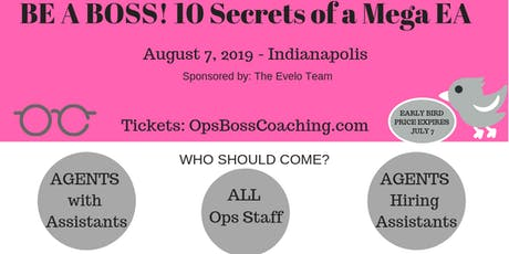 Be a Boss! 10 Secrets of a Mega EA tickets