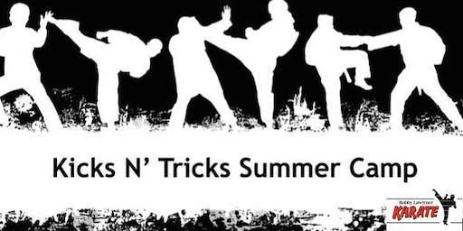 Kicks & Tricks Camp July 15th-19th