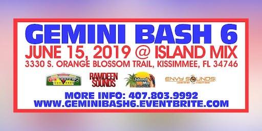 GTViBEZSC Presents: 6th Annual Gemini Bash