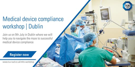 Medical device compliance workshop | Dublin