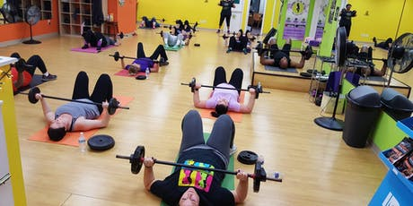Shred N Crush (45 min weightlifting class) - FREE SESSION AVAIL. tickets