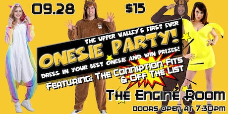 Onesie Party w/ The Conniption Fits & Off The List tickets