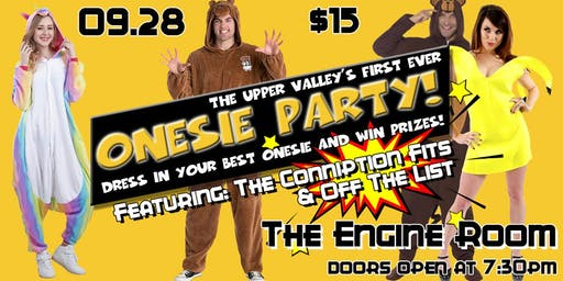 Onesie Party w/ The Conniption Fits & Off The List