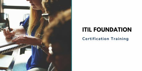 ITIL Foundation Classroom Training in c tickets