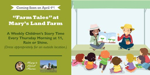 "Mary's Land Farm for ""Farm Tales!"""