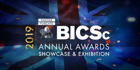 2019 BICSc ANNUAL AWARDS, SHOWCASE & EXHIBITION tickets