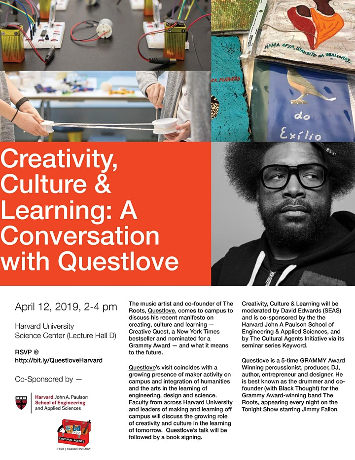 Creativity, Culture & Learning: A Conversation with Questlove image