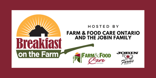Ontario's Breakfast on the Farm, June 22, 2019