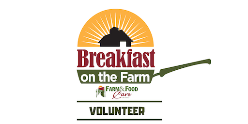 Volunteers- Ontario's Breakfast on the Farm June 22, 2019