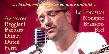 La chanson française en toute intimité... à La Maizon ! billets