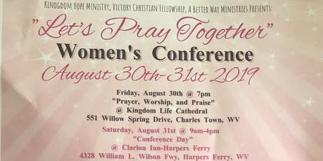 """Let's Pray Together"" Women's Conference  tickets"