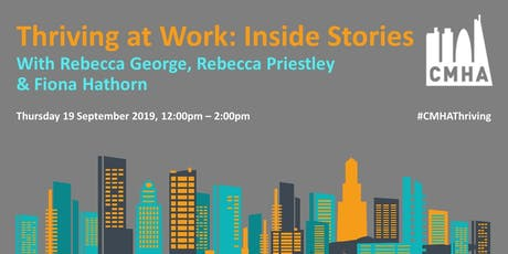 Thriving at Work - Inside Stories tickets