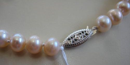 Pearl Jewellery Making Afternoon Tea Class