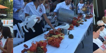 Merryvale Vineyards Lobster Feed