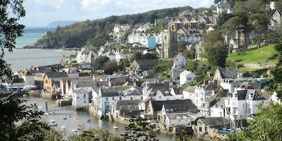 "Fowey Estuary guided walk ""The Hall Walk"""