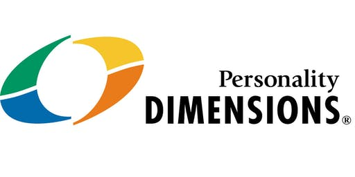 Personality Dimensions® Facilitator's Level 1 Certification October 15-17, 2019