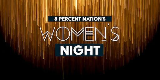 8% Nation Women's Night
